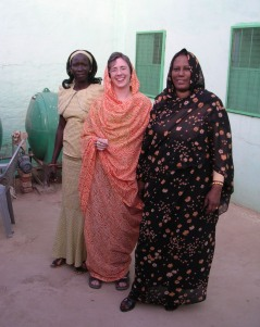 Working with women in Sudan